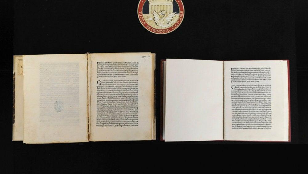 Carta escrita por Cristóbal Colón en 1493