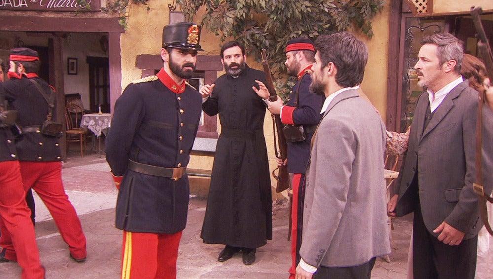 Ramiro y los soldados