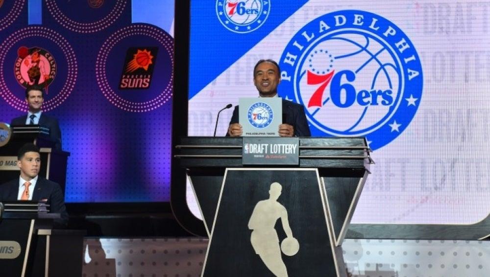 Sorteo del draft de la NBA