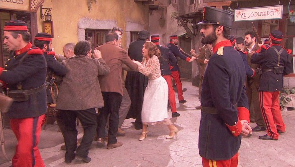 Detenciones en Puente Viejo