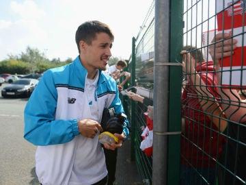 Bojan Krkic, delantero del Stoke City