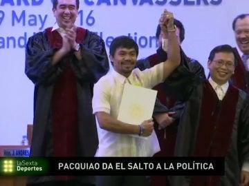 Pacquiao, senador en el Parlamento filipino