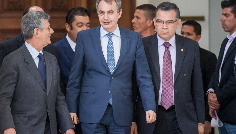 José Luis Rodríguez Zapatero en Venezuela