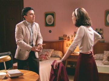 Ángel y María