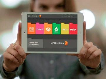 Las nuevas webs de Atresmedia
