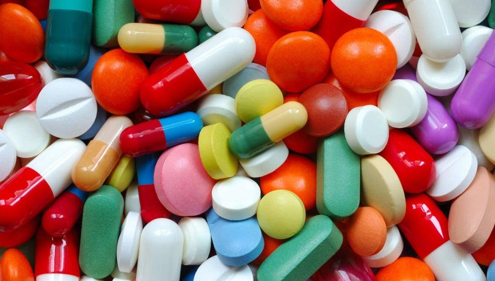Imagen de numerosos fármacos