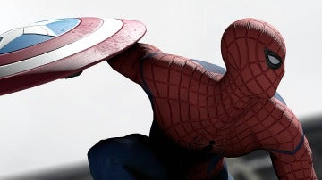 SpiderMan en 'Civil War'