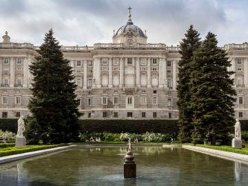 Simulacro de incendio en el Palacio Real de Madrid