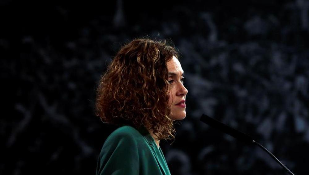 La candidata del PSC a las elecciones generales, Meritxell Batet
