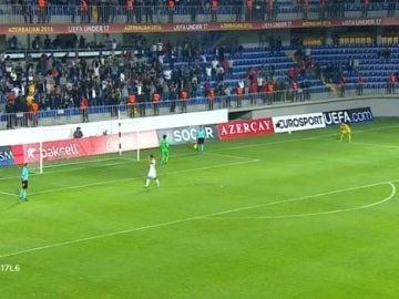 Moralnes lamenta el falló del penalti que le dio la victoria a Portugal