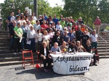 El colectivo Askatasunaren Bidean