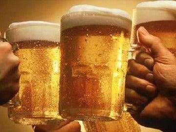 Jarras de  cervezas