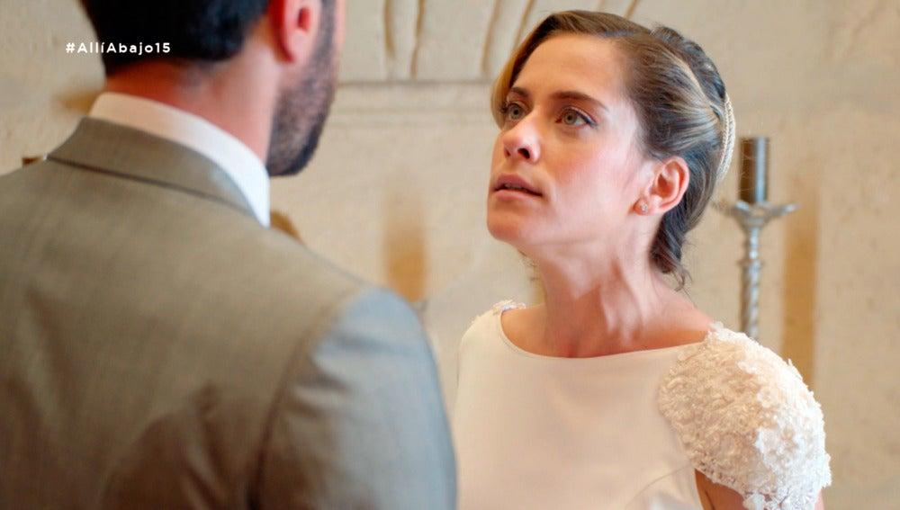 """Carmen a punto de cancelar la boda: """"No me puedo casar contigo por una confusión"""""""