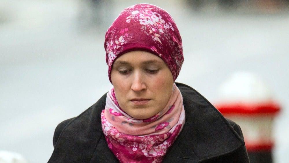 Lorna Moore, de 34 años, tenía previsto llevarse a sus tres hijos.