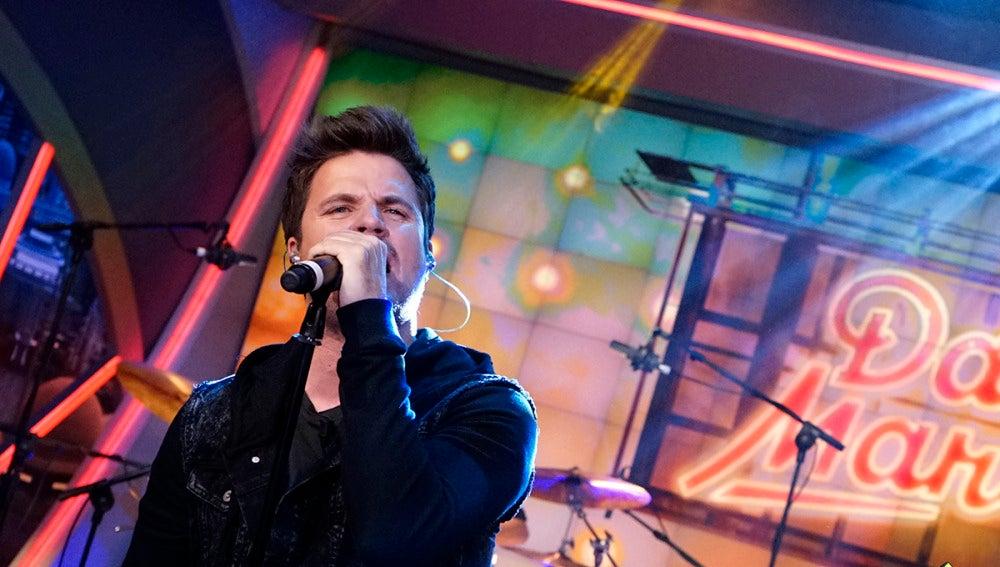 Dani Martín canta en directo en 'El Hormiguero 3.0'
