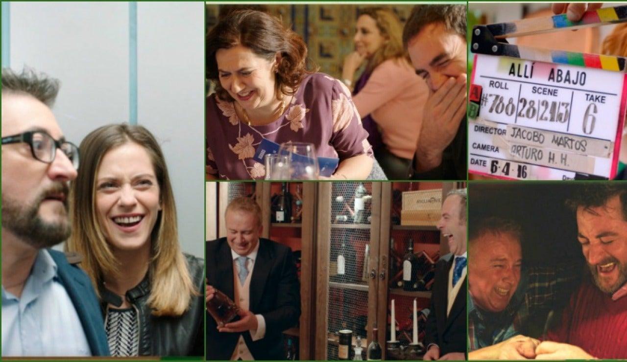 Series Allí Abajo Web Oficial De La Serie Española Allí Abajo De Antena 3 Televisión