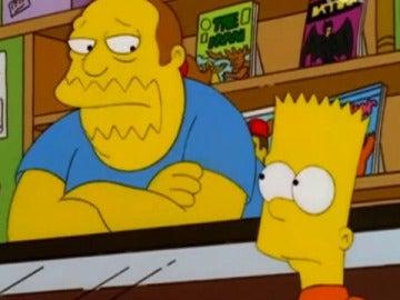 El dependiente de 'Los Simpson'