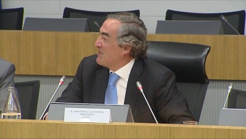 Frame 3.620436 de: Rosell pide que se regulen las puertas giratorias para que los directivos cobren lo mismo en el sector público y en el privado