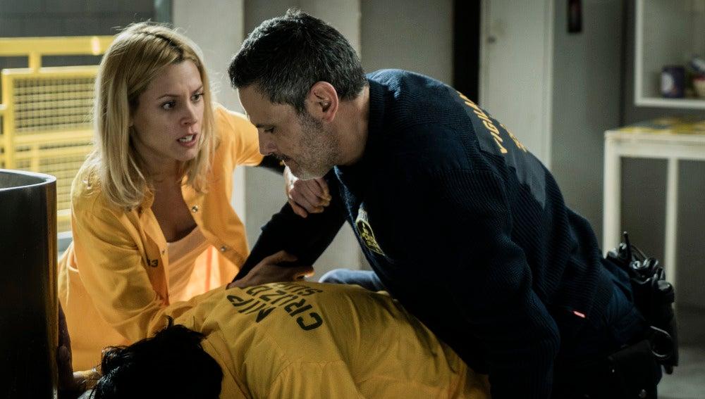 Macarena se enfrenta a Fabio por Zulema