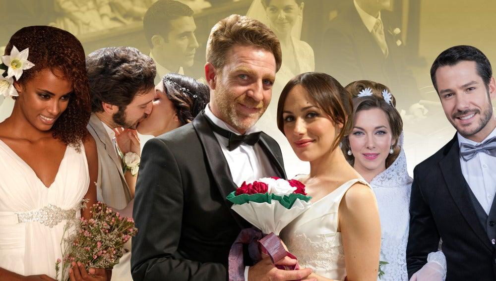 Así fueron las diez bodas más recordadas de Antena 3
