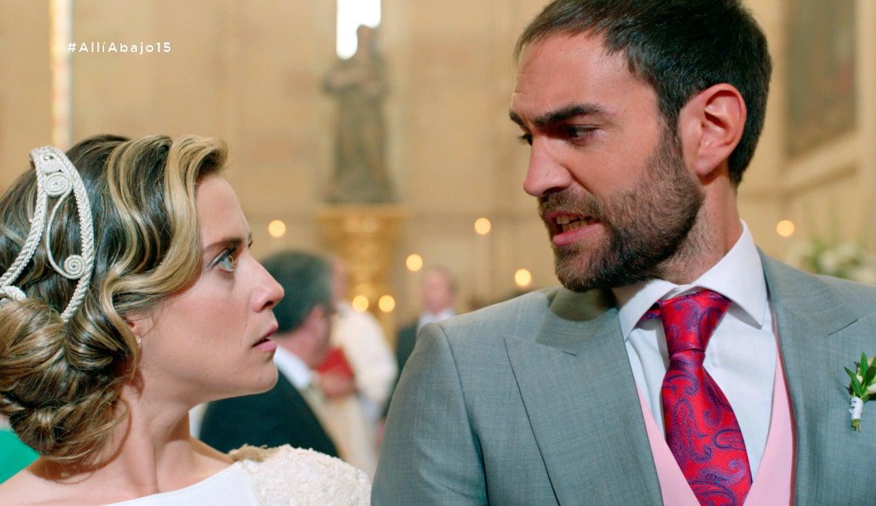 El 'Si, quiero' de Carmen e Iñaki con final inesperado