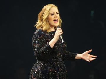 Adele, en un concierto en Hamburgo (Alemania) en Mayo de este año.