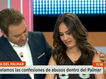 """Frame 8.845625 de: María Miñana: """"Me dio una bofetada que me giró la cara"""""""