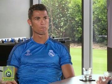 Cristiano Ronaldo, en la entrevista con Josep Pedrerol