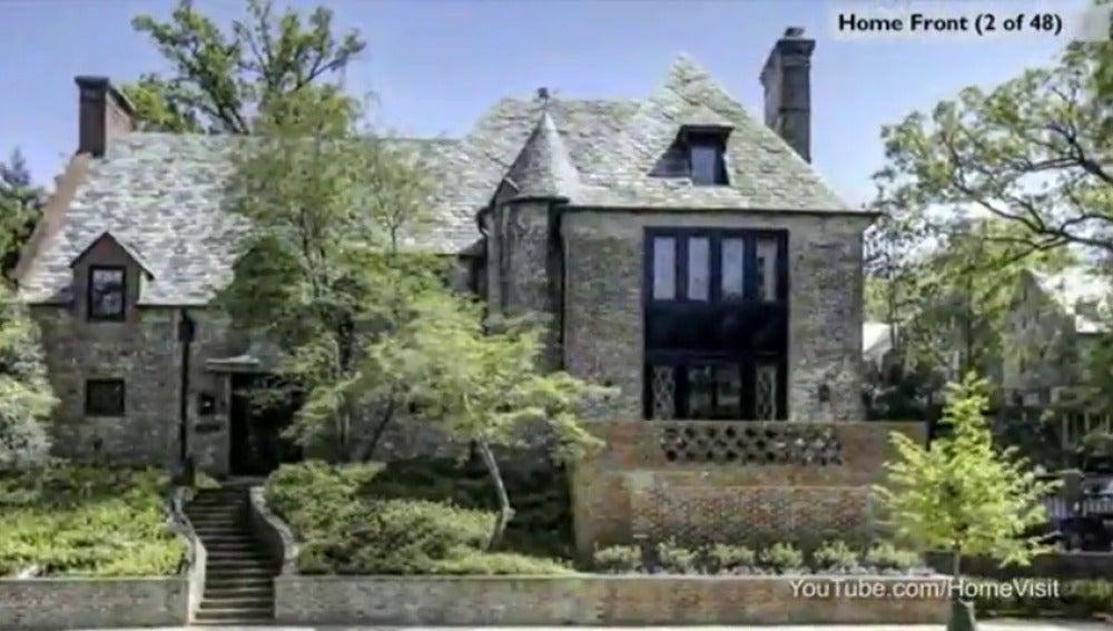 Frame 31.698 de: Esta es la casa en la que vivirán los Obama cuando abandonen la Casa Blanca