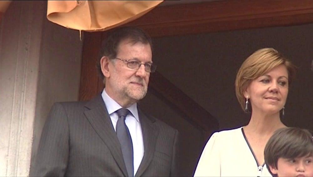 """Frame 0.0 de: Rajoy: """"con confianza y certidumbre"""" se consolidará la recuperación"""