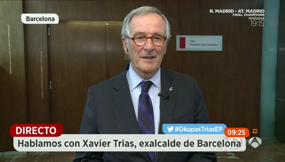Xavier Trias, exalcalde de Barcelona