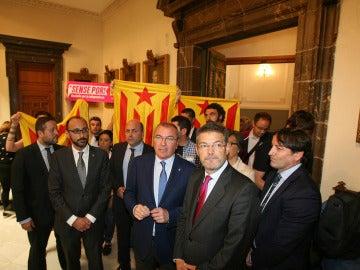 Rafael Catalá, en el Ayuntamiento de Reus