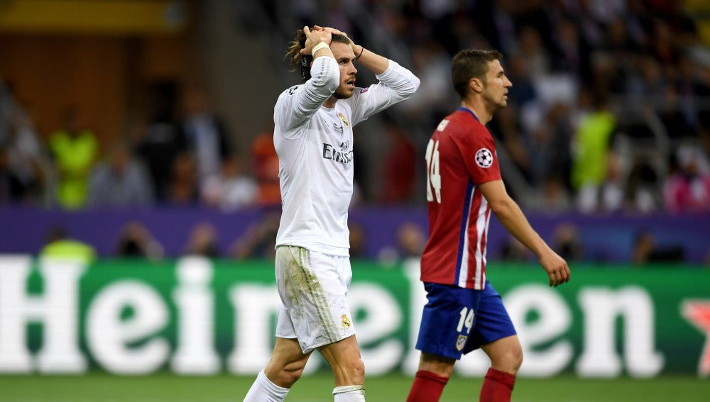 Gareth Bale lamenta el empate del Atlético de Madrid