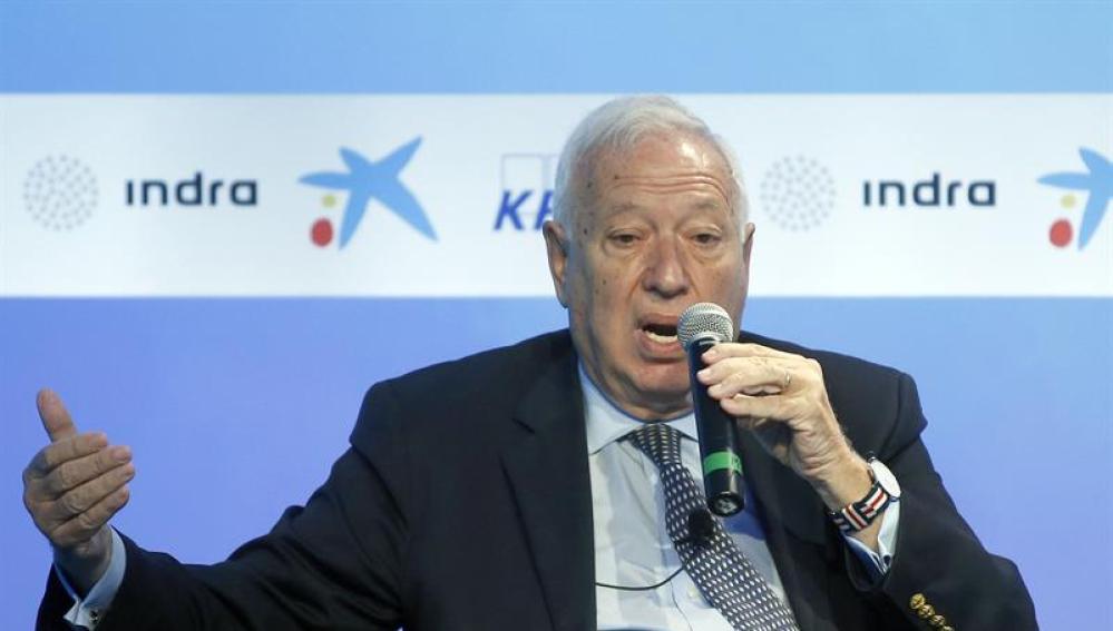 José Manuel García MArgallo, ministro de Exteriores en funciones