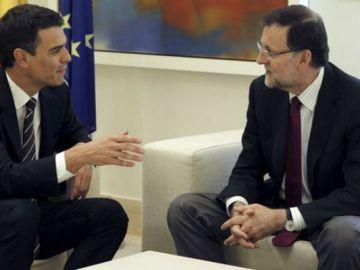 Sánchez con Rajoy