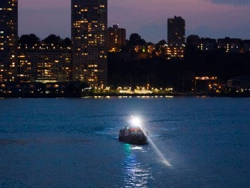 Una patrulla en el río Hudson
