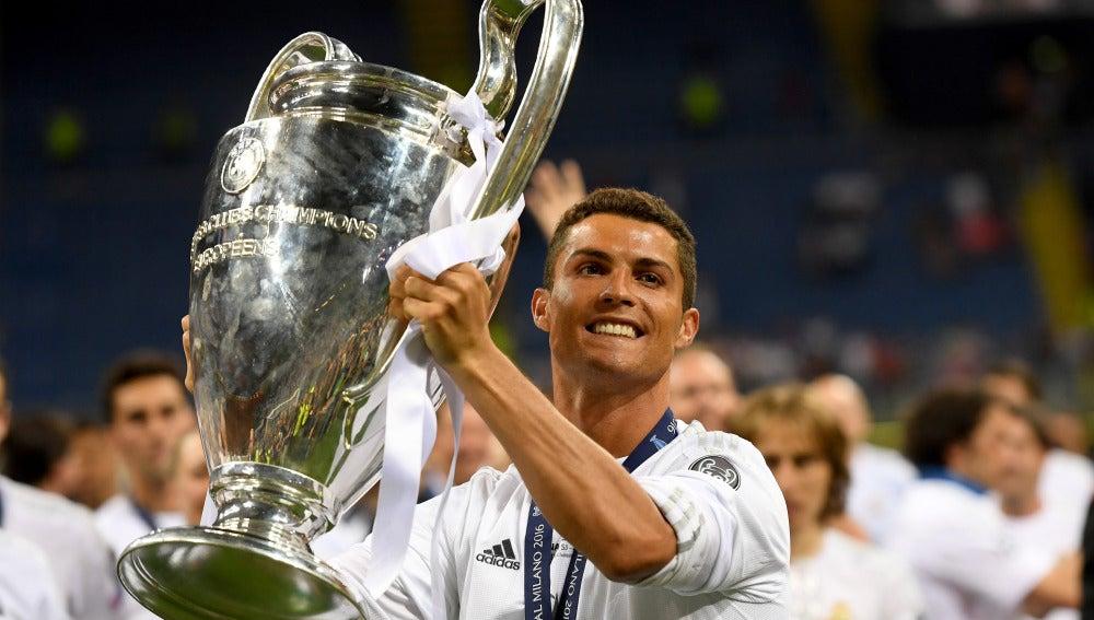 Cristiano Ronaldo levanta la Champions