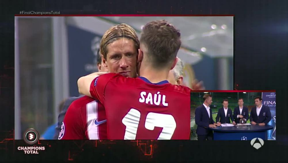 Fernando Torres, desconsolado con Saúl
