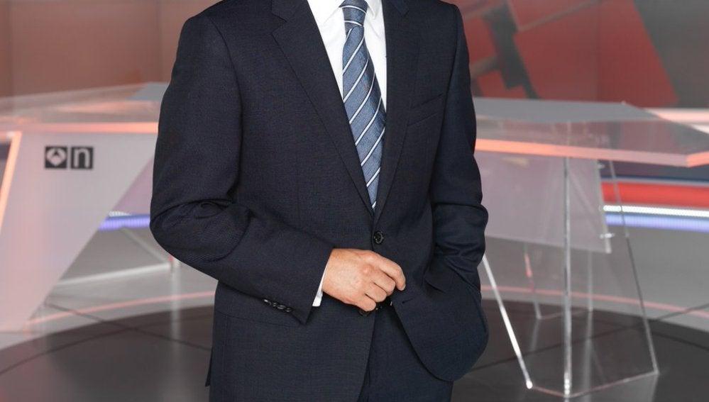 Vicente Vallés, moderador de Atresmedia en el debate a cuatro del próximo 13J