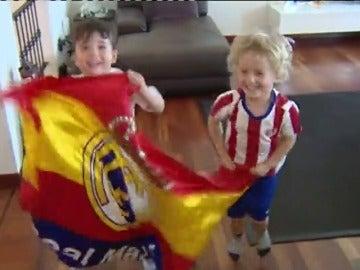 Frame 49.016745 de: Los madrileños residentes en Milán abren sus puertas a parientes y amigos madrileños