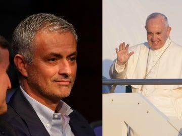 José Mourinho y el papa Francisco