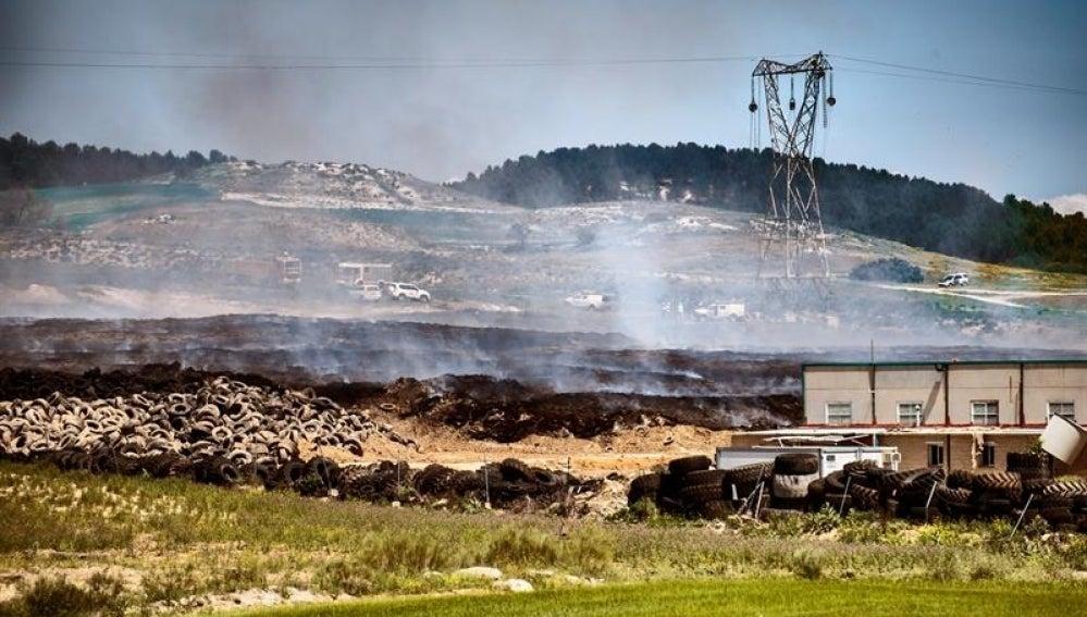 Extinguido el incendio en Seseña