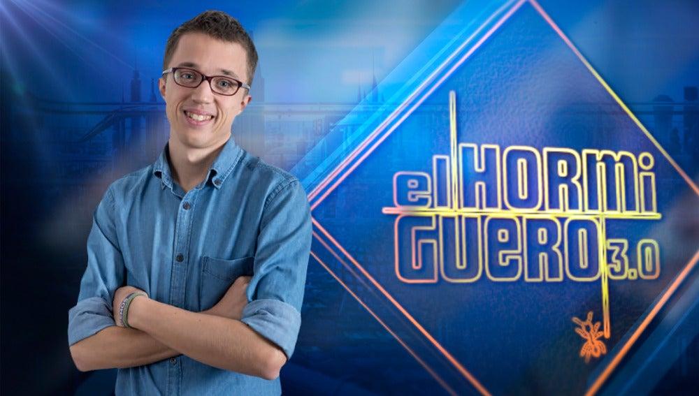 Iñigo Errejón visitará 'El Hormiguero 3.0'