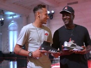 Neymar y Michael Jordan juntos en Estados Unidos