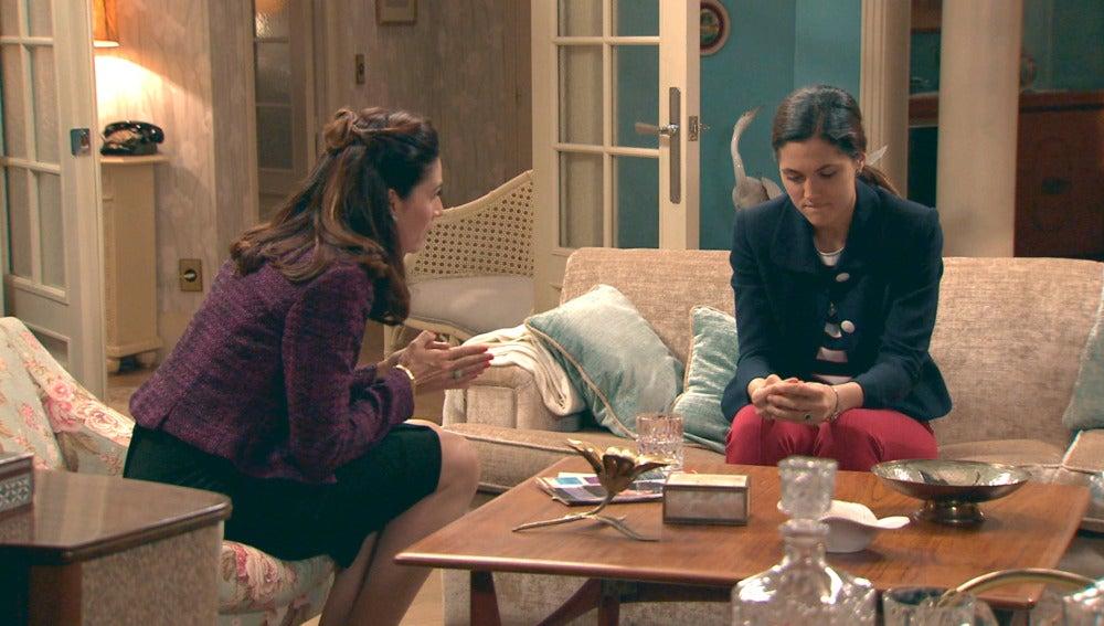 Adela le ruega perdón a su hija Sofía