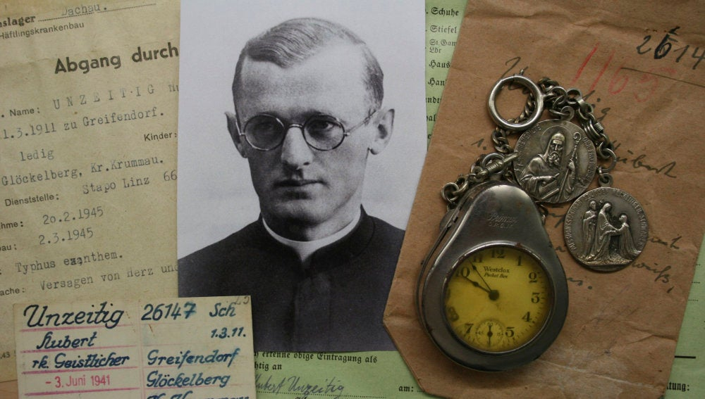 Objetos personales requisados por los nazis