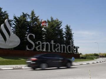 Vista de la Ciudad Financiera del Banco de Santander
