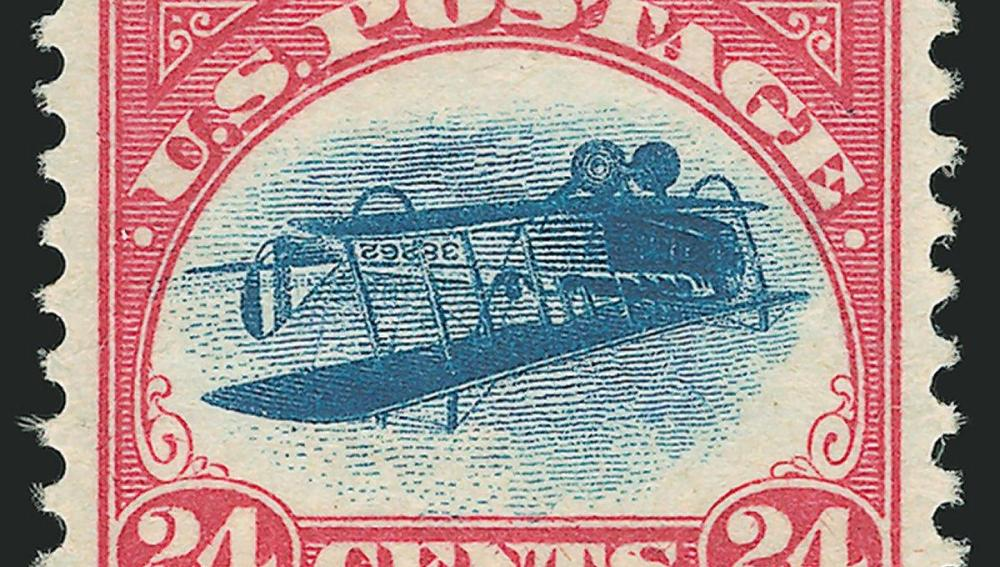 Inverted Jenny, un sello valorado en un millón de dólares