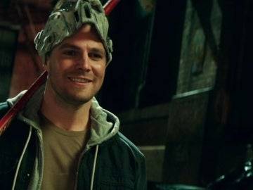 Steven Amell en 'Ninja Turtles: Fuera de las sombras'