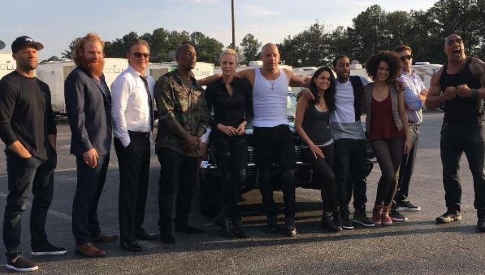 Reparto de 'Fast & Furious 8'